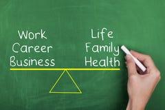 Work Life Balance. Balance and harmony in life and career Royalty Free Stock Photography