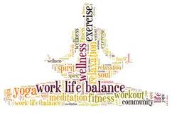 Work life balance Stock Image
