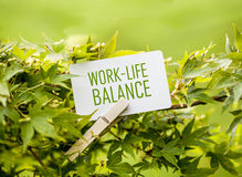 Work-Life-Balance Stock Photo