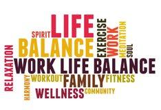 Work life balance Stock Photo