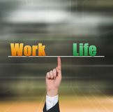 Work and life Stock Image