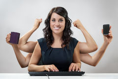 Work load Royalty Free Stock Image