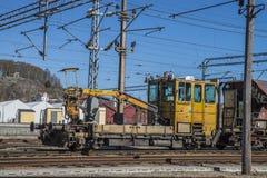 Work locomotive Stock Photo