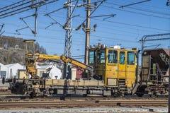 Work locomotive Stock Images