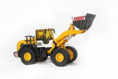 Construction work machine, digging tool royalty free stock images