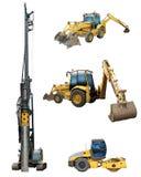Work machines Stock Photo