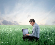 Work in the nature Stock Photography