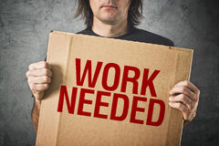 Work needed Stock Images