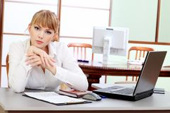 Work at the office Royalty Free Stock Photography