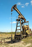 Work of oil pump Royalty Free Stock Image