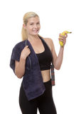 Work out fitness woman Royalty Free Stock Image