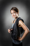After the work out Royalty Free Stock Photo