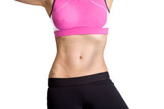 Work Out Girl Royalty Free Stock Photo