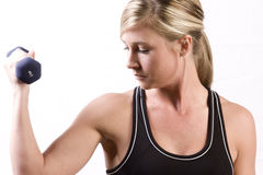 Work Out Girl Stock Photo