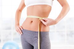 Work out results. Royalty Free Stock Images