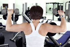 Work out woman Stock Photography