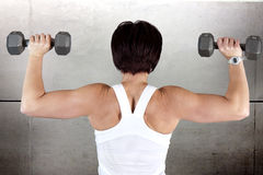 Work out woman Royalty Free Stock Images