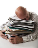 Work overload Royalty Free Stock Photos