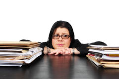 Work overload Royalty Free Stock Photography