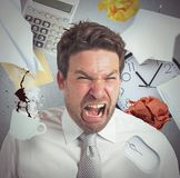 Work overload Stock Photography