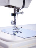 The work part of the sewing machine Royalty Free Stock Images