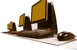 Work PCs Stock Photography