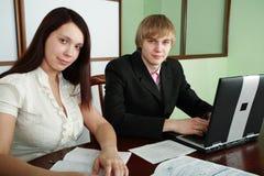 Work people Stock Image