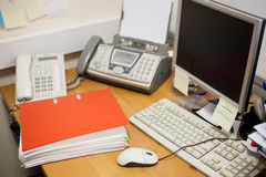 Work place Stock Image