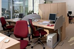 Work place Royalty Free Stock Photos