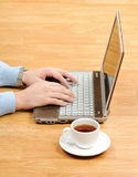 Work place. Concept Stock Photo
