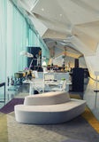 Work place in hotel ,  Dublin, Ireland Royalty Free Stock Photos