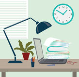 Work place Stock Images