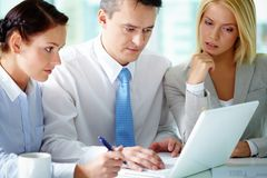 Work planning Royalty Free Stock Photography