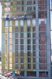 Work Platform and  Construction lift Stock Photos