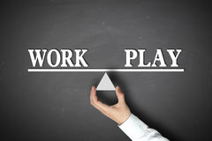 Work Play Balance Royalty Free Stock Image