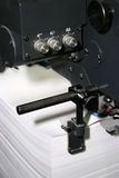 Work of the printed equipment Royalty Free Stock Photography