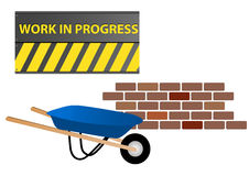 Work in progress Stock Images