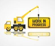 Work in progressç Royalty Free Stock Image