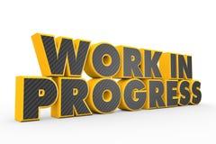 Work in progress Stock Photo