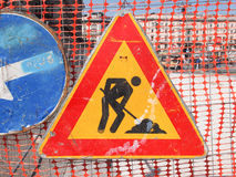 Work in progress sign Royalty Free Stock Images