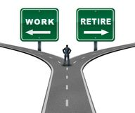 Free Work Retire Direction Royalty Free Stock Photos - 126448378