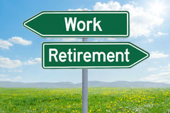 Work or Retirement Royalty Free Stock Photos
