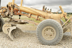Work road machines Stock Photo