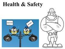 Work safe be safe Royalty Free Stock Images
