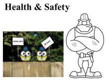 Work safe be safe Stock Photos