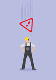 Work Safety Conceptual Vector Illustration Stock Photo