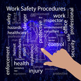 Work Safety Procedures concept. Vector Stock Photography