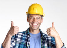 Work satisfaction. Royalty Free Stock Image