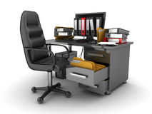 Work-seat Royalty Free Stock Photo