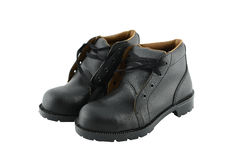 Work shoes safety Royalty Free Stock Photos